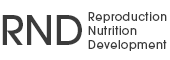 Reproduction Nutrition Development
